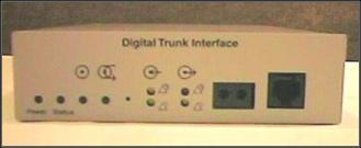 Digital Trunk Media Bay Module
